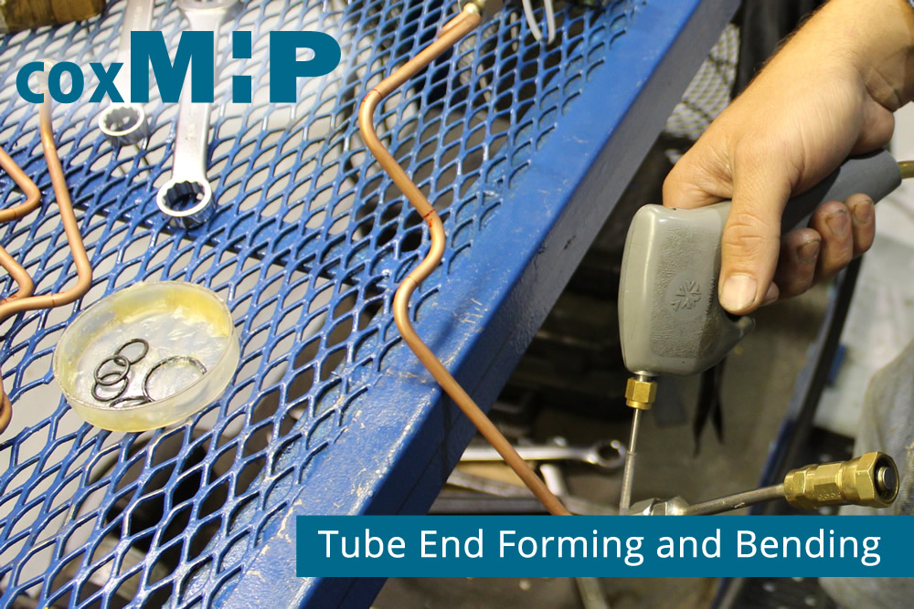 Tubing end froming and bending contract manufacturing.