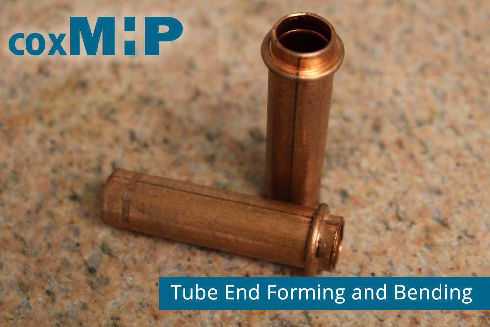Tube end forming and bending.