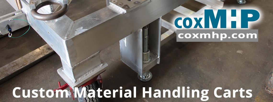 Custom Aluminum Material Handling Cart Manufacturer