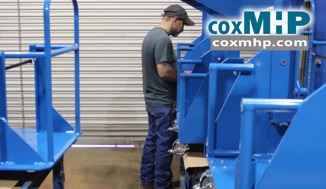 Custom Aluminum Material Handling Carts
