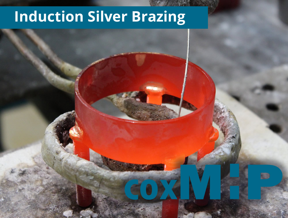 Induction Silver Brazing by CoxMHP