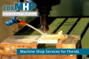 We offer machine shop services to companies in Florida.